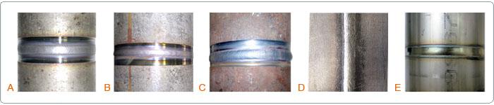 Головки для труб Ф10-230мм (Сварные швы)