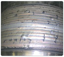 Наплавка выполнена сварочной головкой С5914М